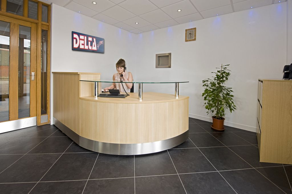 Delta Systems reception area